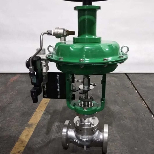 气动薄膜切断阀ZJHP-16K
