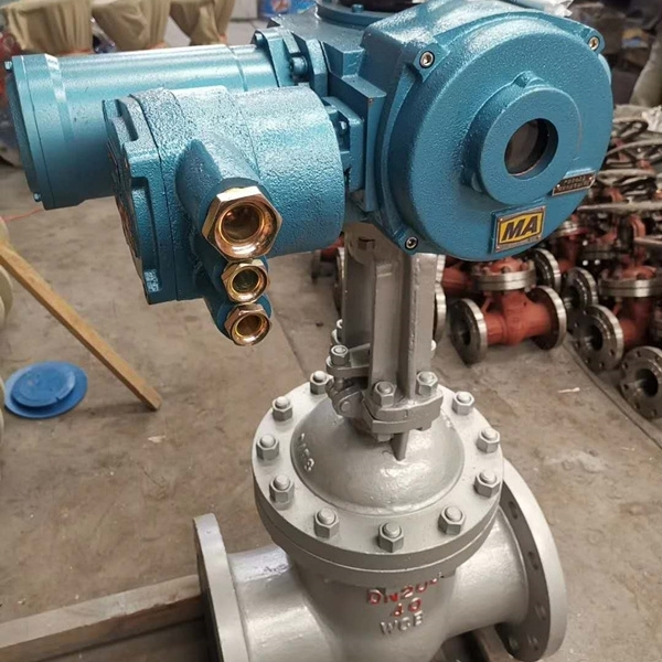 矿用电动闸阀MKZ941H-40C
