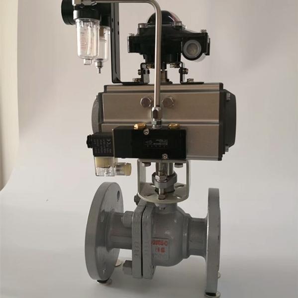 气动低压钢制球阀Q641F-16C