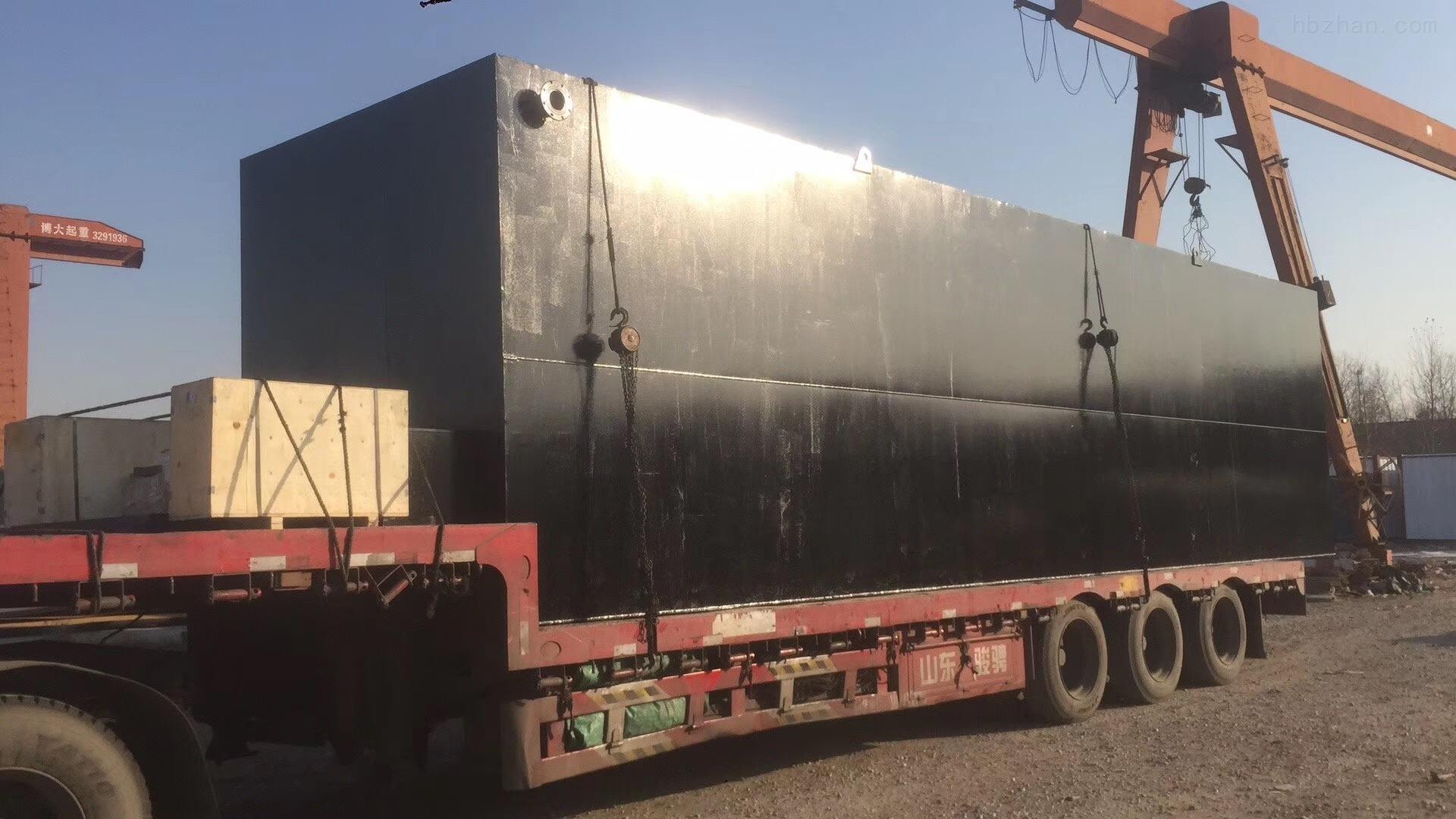 江西抚州一体化污水处理设备市场报价