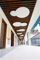 空间吸声体材料厂家 玻纤造型板吸音垂片