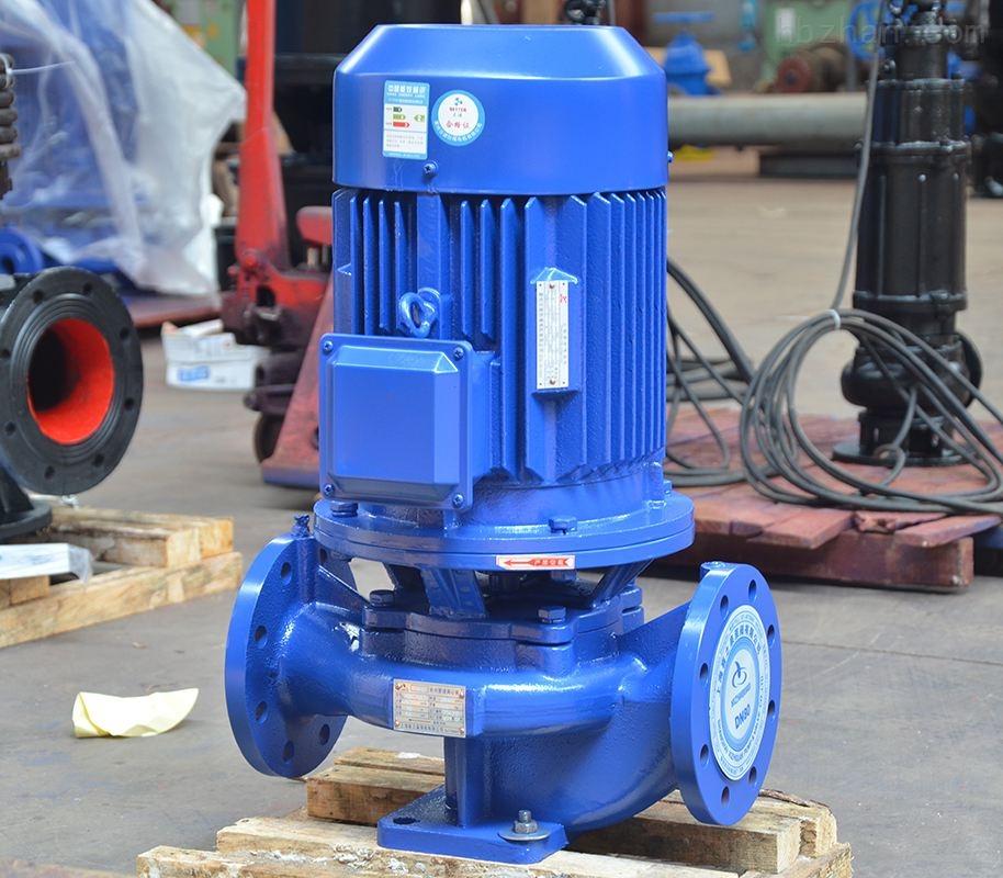 立式管道离心泵