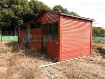 防腐木生态厕所 想界景区移动厕所卫生间