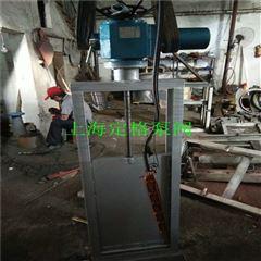 QZM电动不锈钢渠道闸门