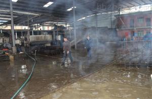 屠宰场喷雾除臭消毒设备研发