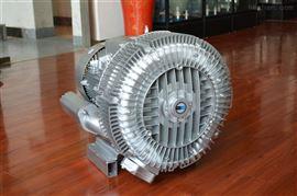 11kw低噪音双段双叶轮高压风机厂家