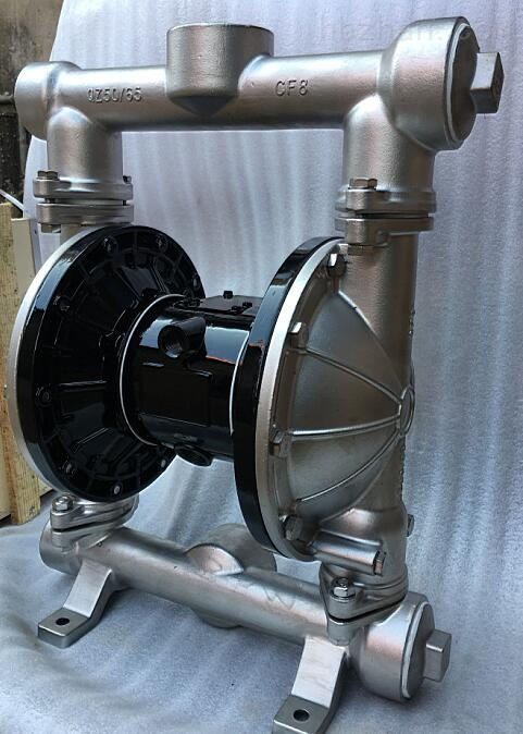 QBY3不鏽鋼氣動隔膜泵