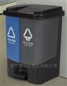 湖北40L塑料分类垃圾桶厂家批发