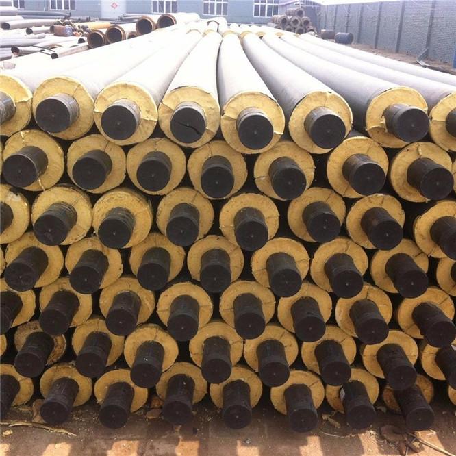 高温预制钢套钢保温管厂家