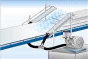 AL-600mm灌装流水线清洗吹水吹干风刀 定制风刀