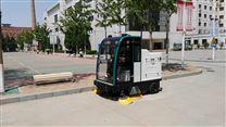 駕駛式掃地機樹葉紙屑垃圾果皮街道掃地車
