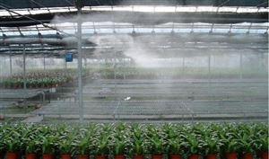 温室大棚自动灌溉加湿降温喷雾设备
