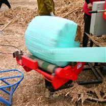 青储玉米秸秆打捆机 饲料青贮包膜机
