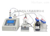 卡尔费休容量法水分测定仪库号:M25961