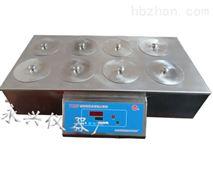 雙排四孔六孔和八孔數顯恒溫水浴鍋價格