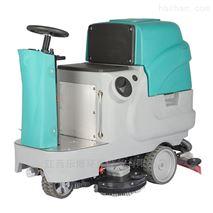 雙刷駕駛式洗地機環氧地坪用