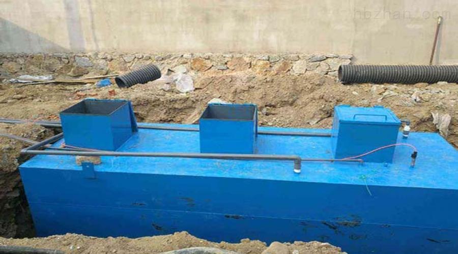 咸阳居民区污水处理设备订做