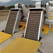 污水处理站不锈钢回转式机械格栅