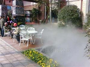 碧桂园小区花园人造雾景观工程