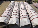 水泥厂用帆布水泥收尘伸缩布袋