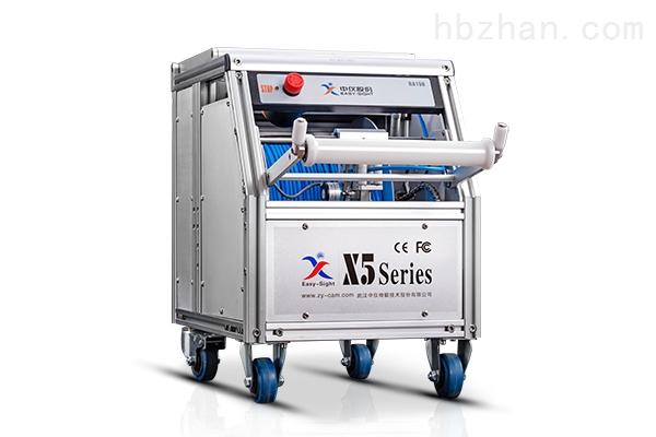 X5-HT管道爬行机器人管道内情况检测