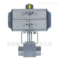 氣動不鏽鋼超高壓絲口球閥