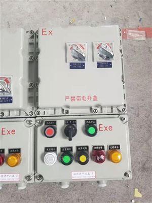 BXK58给煤机变频防爆控制开关箱EXdeIIBT6