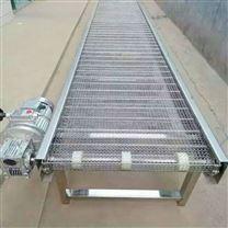 食品网带输送机不锈钢304输送带规格定制