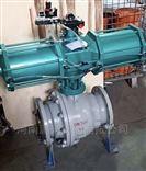Q647F气动固定式软密封氮气球阀