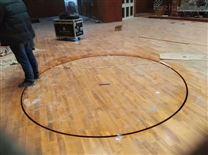 墨江县体育馆地面专用运动木地板安装