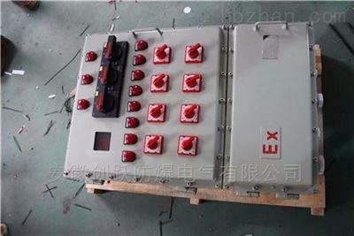 IIBT4钢板焊接焦化厂防爆照明配电箱BXM51