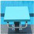 游泳池比赛出发台标准竞赛泳池跳水台