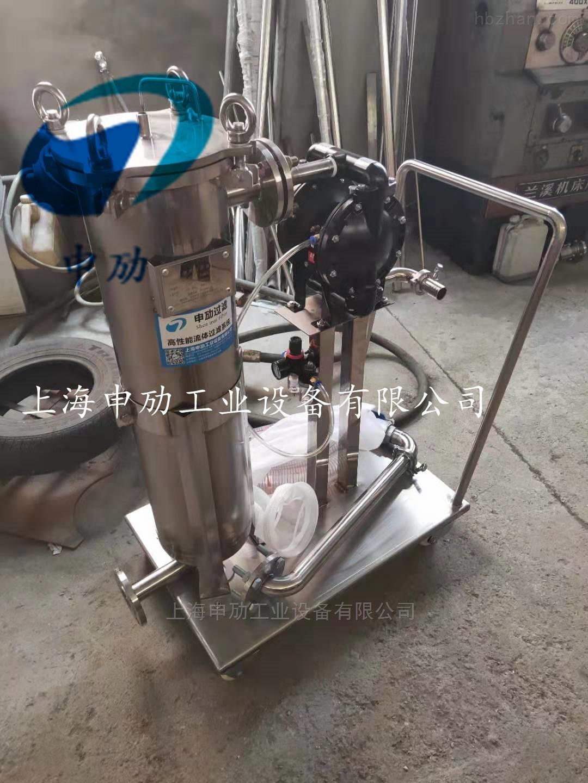 推车式隔膜泵过滤机