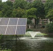 太阳能增氧曝气机报价