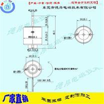 东莞德昂DT2525逆时针旋转电磁铁-厂家直供