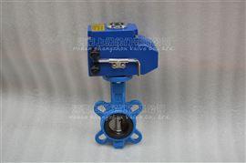 D971XP-16电动不锈钢板蝶阀