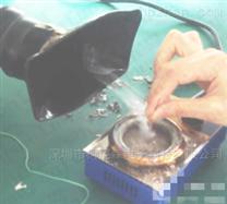 车间双工位焊锡焊接烟雾异味吸烟净化过滤器