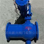 Q647MF钢铁厂气动卸灰球阀