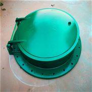 汙水處理廠家玻璃鋼拍門dn600