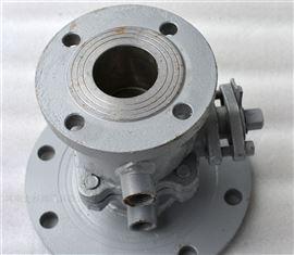 FQ41F保温铸钢放料球阀