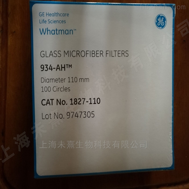 whatman934-AH玻璃纤维滤纸1.5um*110mm