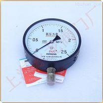 红旗牌YA150氨用压力表