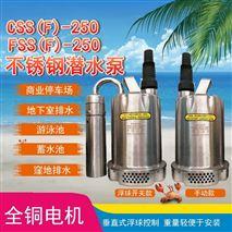潜水泵220V不锈钢清水泵自动雨水提升泵
