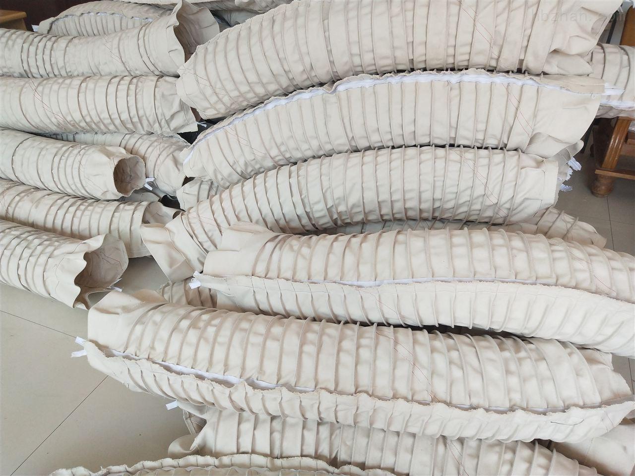 卸料口防尘耐磨伸缩式水泥布袋
