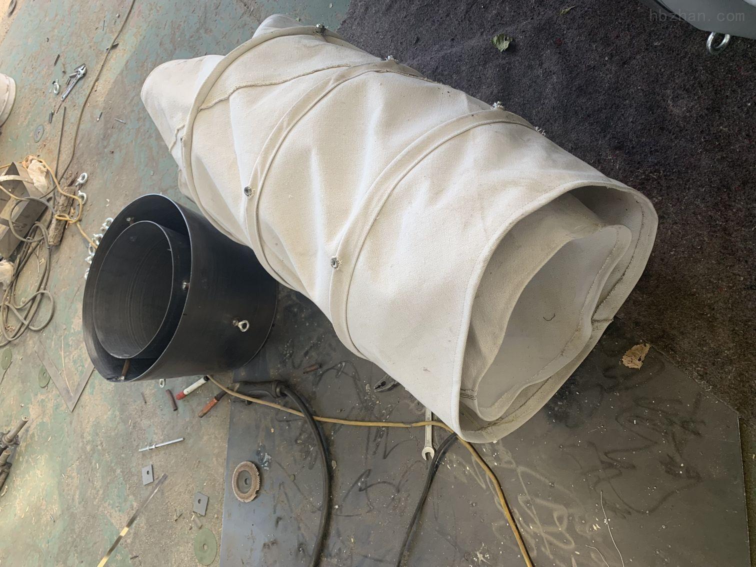 帆布除尘耐磨伸缩式布袋应用