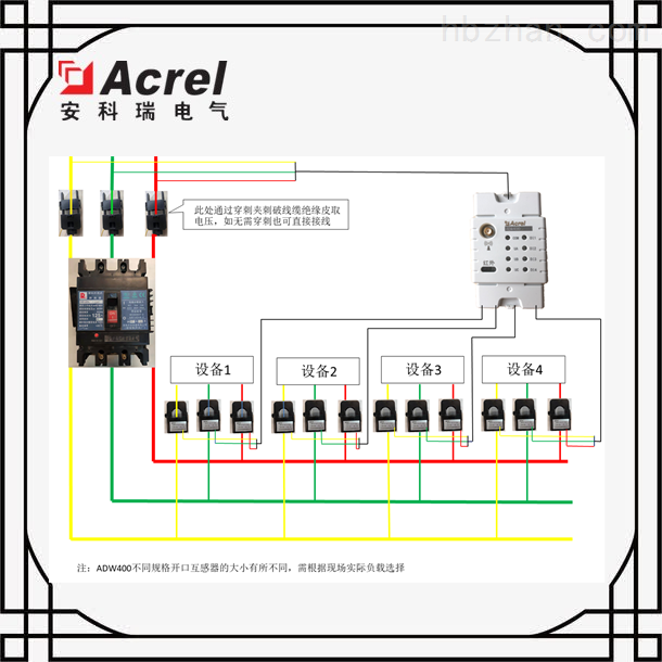 湖南衡阳市治污设备实时用电监控方案
