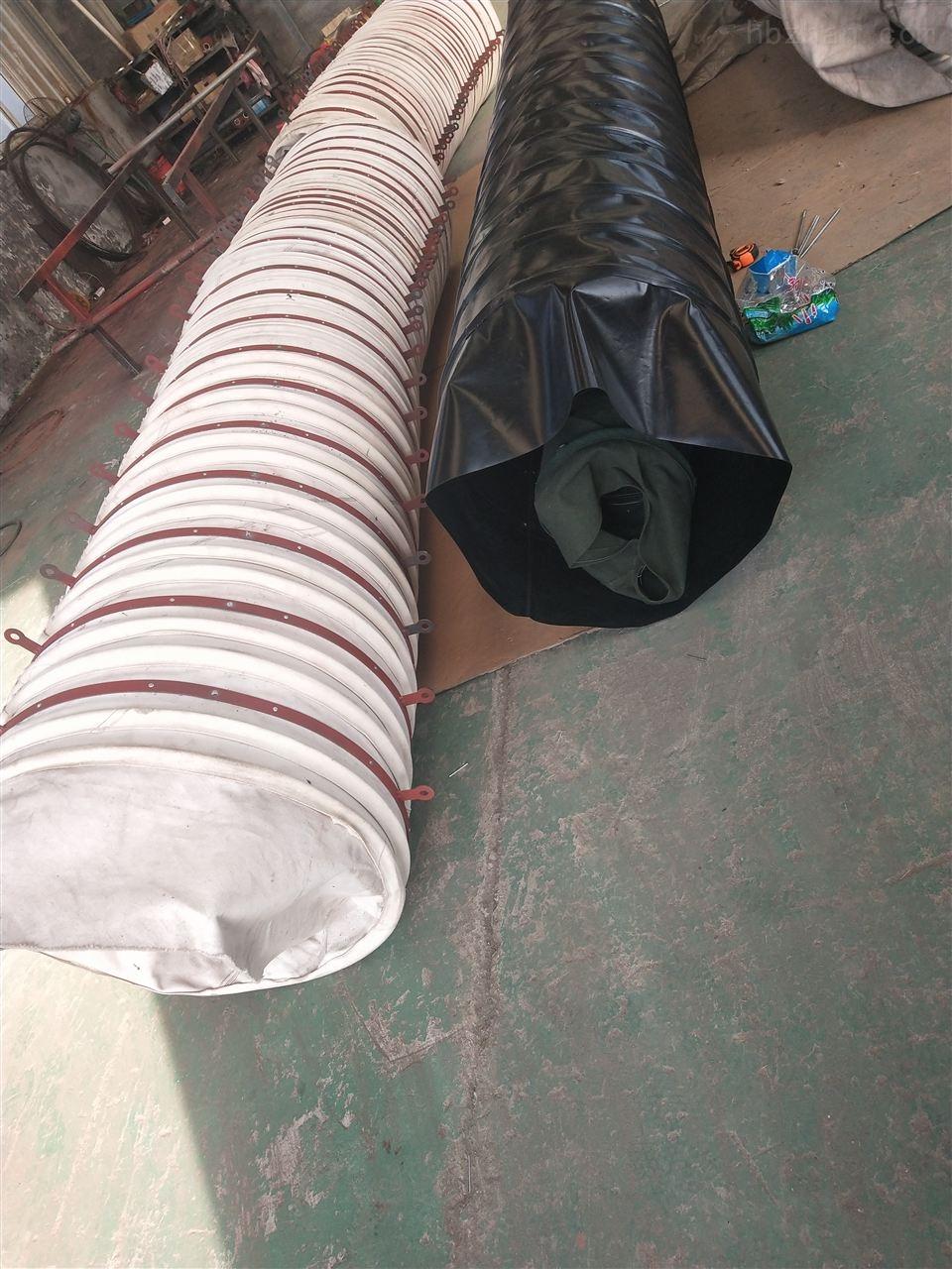 帆布卸料伸缩式除尘布袋供应