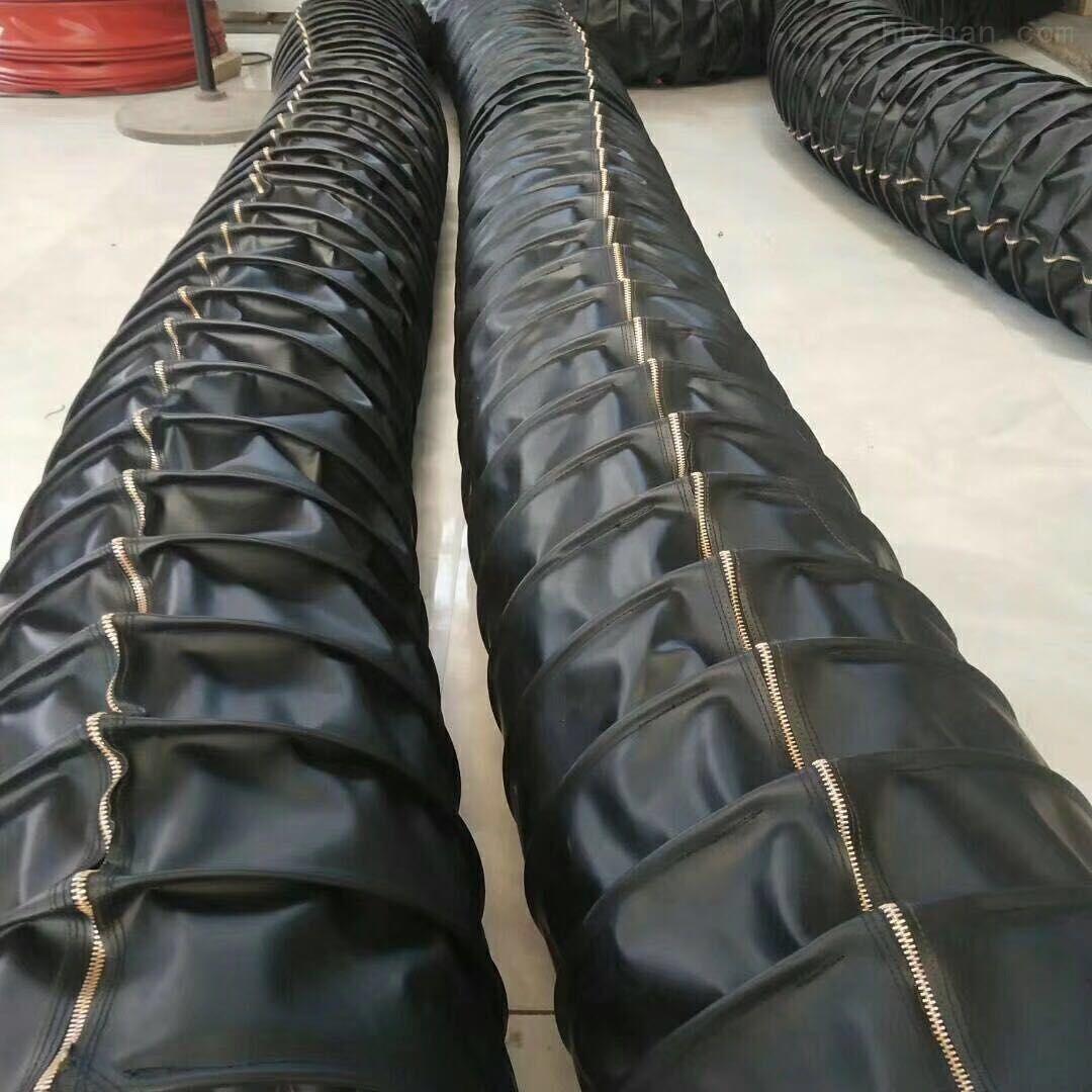 装车线耐磨伸缩式水泥布袋