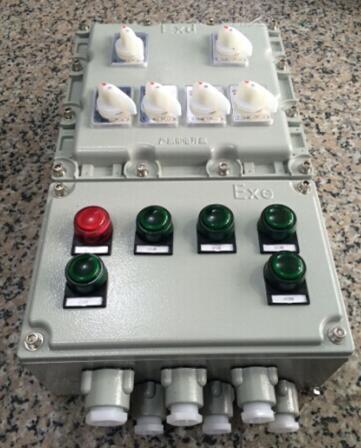 2.2kw防爆电动机启停配电箱