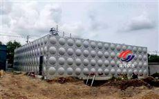滨海1020地上箱泵一体化增压给水设备完工